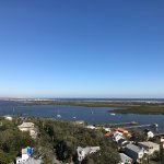 Beautiful view from top of Lighthouse. Well worth the price of admission and the climb up all th