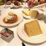 lemon cake and butter cake