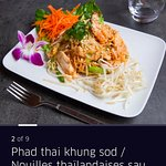 one of our most popular dishes and essentially thai street food, Pad Thai