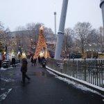 Snow at Hershey Park