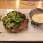 Yummy Crab Cake with Lemon Aloli Sauce  1 of 7 Available