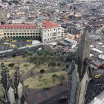 View of Quito from the bell tower