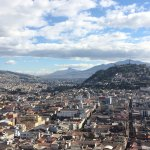 View of Quito from the Bel tower