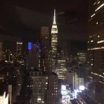 The Empire State Building and Chrysler Building are visible from room. 38th Floor