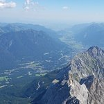 The top of Zugspitze