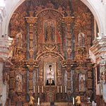 Inside the San Xavier