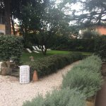 Appia Grounds perfectly landscaped and maintained, lavender
