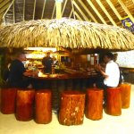 Check out the Tiki bar