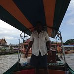 Thai boats not the tourist boats