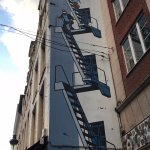 Tintin Mural in Brussels