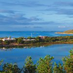 Six villas between the ocean and a bonefishing lake