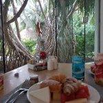 A healthy breakfast at La Siete