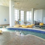 pool area showing enclosed