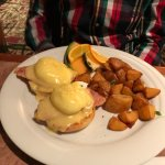 Tasty Eggs Benny with Canadian Bacon
