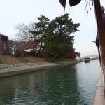屋形船に乗りました。