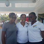 These ladies made our trip.  Tenneile, Angeleke and Taneisha