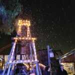 During Knotts Merry Farm it snows in SoCal