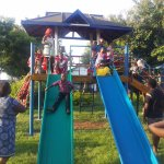 Kids have a fun time at our playground.