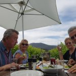 Lunch among the grape vines at Bramon Wine Estate