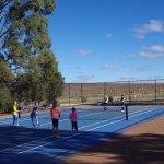 Tennis court at Jacob Creek