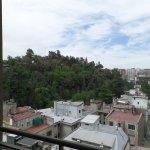 Cerro Santa Lucia desde el balcón