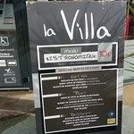 menu à 10 euros proposé le midi!