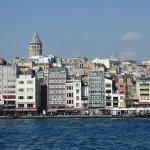Galata Tower from the sea