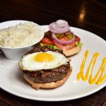 Hamburger & Egg