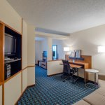 Newly Renovated King Suite - living space