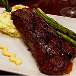 Amazing Steak, Mashed Potatoes and Asparagus