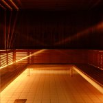 Sauna at Selma City Spa