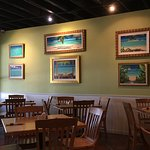 Paintings and seating
