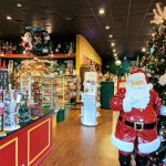 Inside the Christmas store