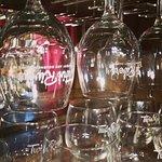 Wine by the bottle, glass or flight.