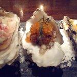 Degustación de ostras, una maravilla.