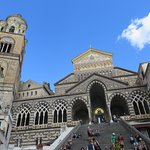 The Amalfi Cathedral and bell tower