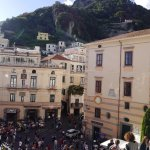 From the steps of Amalfi Cathedral