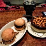 Pulled pork sliders: $6.95. Fried chickpeas: $3.25. Unknown Teleporter: $7.50.