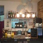 Le bar aux couleurs de Noël