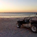 Mit dem Beach Buggy am Strand