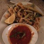 Calamari was a bit chewy, although definitely fresh