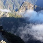 Machu Picchu, one of the seven wonders of the world.