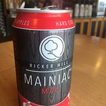 Ricker Hill's Hard Cider-Mainac goes perfectly with our freshly made sandwiches.