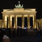 Full Brandenburg Gate View