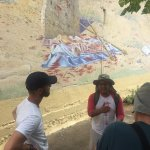 Chester telling us the history of Nicaragua on a trip to Leon