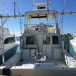 This is the private charter boat we chartered REDFISH
