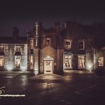 The stunning exterior of the 18th Century Castle Manor Abbey Hotel in Roscommon.