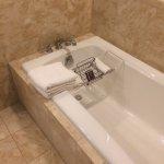 Suite luxurious bathroom