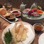 Tempura Shrimp and Sweet Potatoes