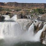 ภาพถ่ายของ Shoshone Falls